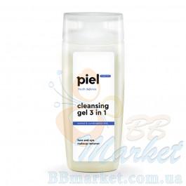 Piel GEL DEMAQUILLANT 3in1 Face and Eye Makeup Remover Гель для снятия макияжа для жирной/комбинированной кожи. Глубокое очищение