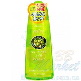 Гидрофильное масло Kanebo Kracie Naive Deep Make-Up Cleansing oil Olive