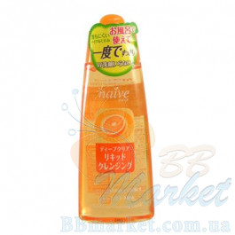 Kanebo Kracie Naive Deep Make-Up Cleansing Liquid Orange