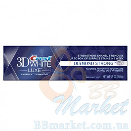 Отбеливающая зубная паста Crest 3D White Luxe Diamond Strong Brilliant Mint 156g