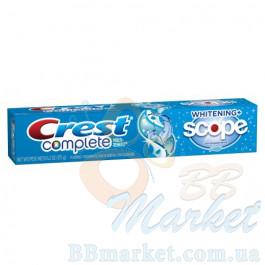 Зубная паста Crest Complete Multi-Benefit Whitening Scope Cool Peppermint 175 g