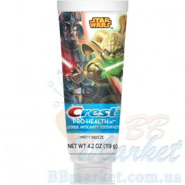 Детская зубная паста Crest Pro-Health JR. Star Wars Minty Breeze 119g