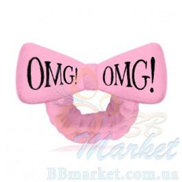 Косметическая повязка для волос Double Dare OMG! Light Pink Hair Band (розовая)