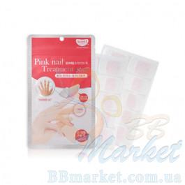 Кератиновая маска для ногтей KOELF Pink Nail Treatment pack 20шт