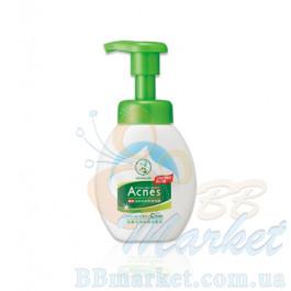 Очищающая пенка для лечения акне Mentholatum Acnes Medicated Foaming Wash 160ml