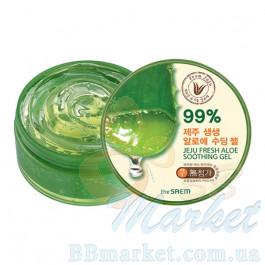 Увлажняющий гель алое 99% The Saem Jeju Fresh Aloe Soothing Gel 99% 300ml