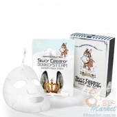Elizavecca Маска Тканевая С Паровым Кремом Silky Creamy Donkey Steam Cream Mask Pack (10 Шт)