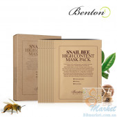 Маска для лица Benton Snail Bee High Content Mask 10шт
