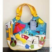 Женская сумка Braccialini TottyBlu Пляж