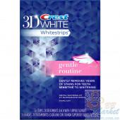 Отбеливающие полоски для чувствительных зубов Crest 3D White Whitestrips Gentle Routine (56 штук)