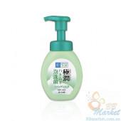 Лечебная пенка для проблемной кожи HADA LABO Gokujyun Hatomugi Foaming Face Wash 160ml