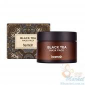 Успокаивающая маска для лица с чёрным чаем HEIMISH Black Tea Mask Pack 110ml