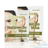 Маска для лица с зеленым чаем ROYAL SKIN REAL GREEN TEA MASK