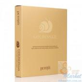 Гидрогелевая маска для лица с золотом и улиткой PETITFEE Gold & Snail Hydrogel Mask Pack - 30g x 5 шт