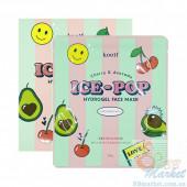 Гидрогелевая маска для лица с вишней и авокадо KOELF Cherry & Avocado Ice-Pop Hydrogel Face Mask - 1 шт