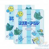 Гидрогелевая маска для лица с мятой и cодой KOELF Mint & Soda Ice-Pop Hydrogel Face Mask - 5 шт