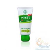 Очищающий крем для лечения акне Mentholatum Acnes Medicated Cream Wash 130g