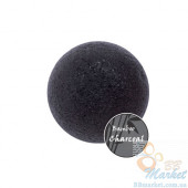 Спонж конняку c древесным углем Missha Natural Soft Jelly Cleansig Puff (Charcoal)