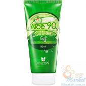 Гель с экстрактом алое Mizon Aloe 90 Soothing Gel  - в тубе 50мл
