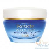 Интенсивно увлажняющий крем для лица для возраста 30+ PERFECTA Bird's Nest Cream Day and Night 30+ 50ml