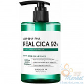 Успокаивающий гель с центеллой азиатской и кислотами SOME BY MI AHA.BHA.PHA Real Cica 92% Cool Calming Soothing Gel 300ml