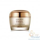 УЦЕНКА! (Помятая упаковка) Крем для лица с золотом и муцином улитки Skin79 Golden Snail Intensive Cream 50ml