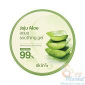 Универсальный гель c алоэ Skin79 Jeju Aloe Aqua Soothing Gel 300ml (Срок годности: до 17.09.2021)