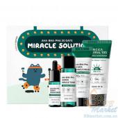 Набор миниатюр кислотных средств для проблемной кожи SOME BY MI AHA-BHA-PHA 30 Days Miracle Solution 4-Step Kit
