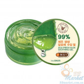 Увлажняющий гель алое 99% The Saem Jeju Fresh Aloe Soothing Gel 99% 300ml
