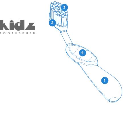 Детская зубная щетка Radius Kidz купить в Украине